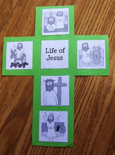 Easter: Life of Jesus Cross - PreKinders