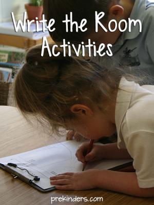 Write the Room Activities