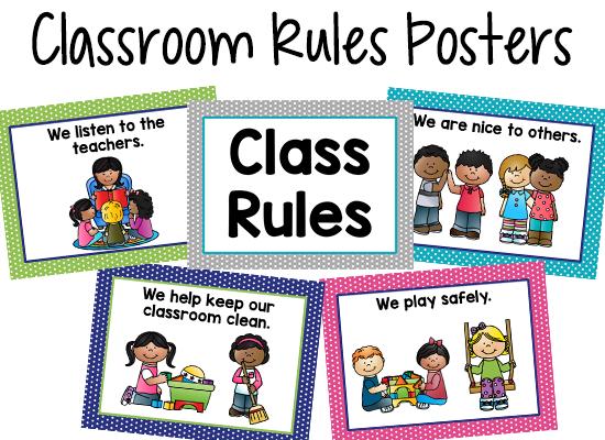 Classroom Design Should Follow Evidence : Pre k classroom rules prekinders