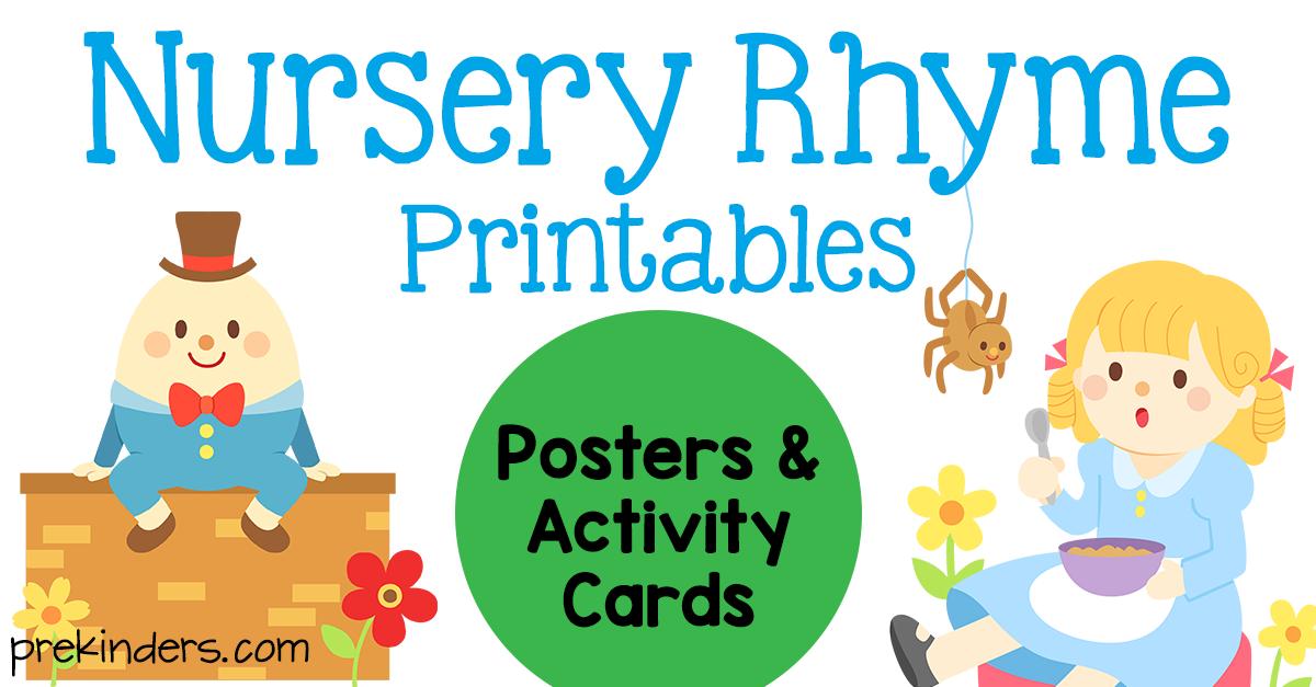 It's just an image of Genius Printable Nursery Rhyme