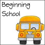 beginning of school activities