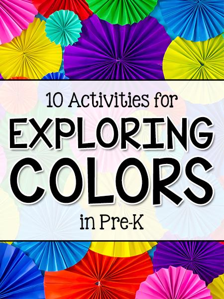 Exploring Colors Prekinders