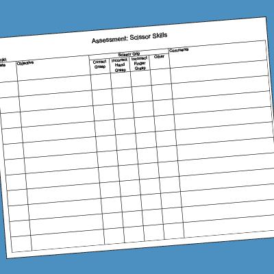 scissor-checklist Teacher Observation Forms Examples on for classroom homework, special education, for responsive classroom, formal classroom, university michigan, templates editable, keys educator system, elementary school,