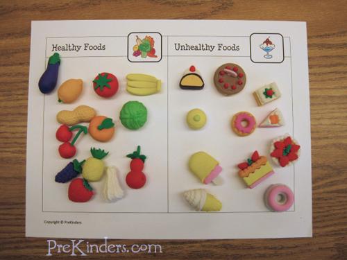 Healthy Food Games Eyfs