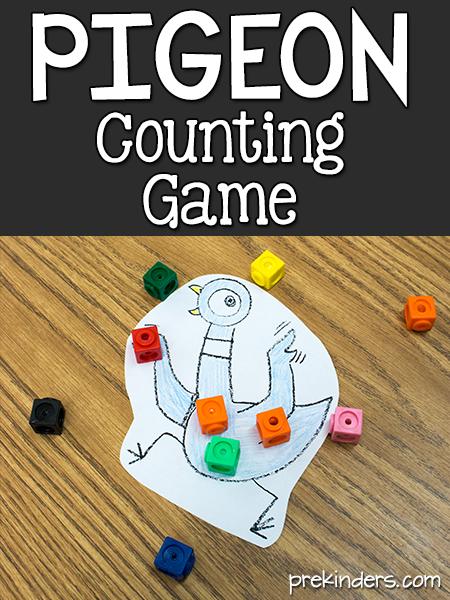 The Pigeon Counts Game Prekinders