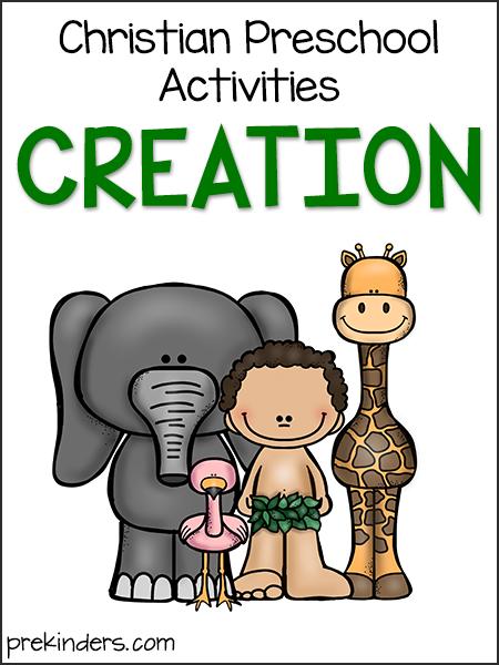 Creation Story Christian Preschool Activities