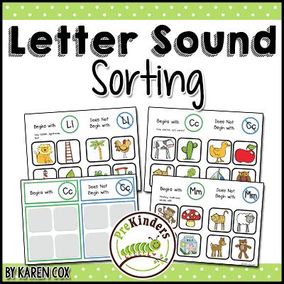 Letter Sound Sorting