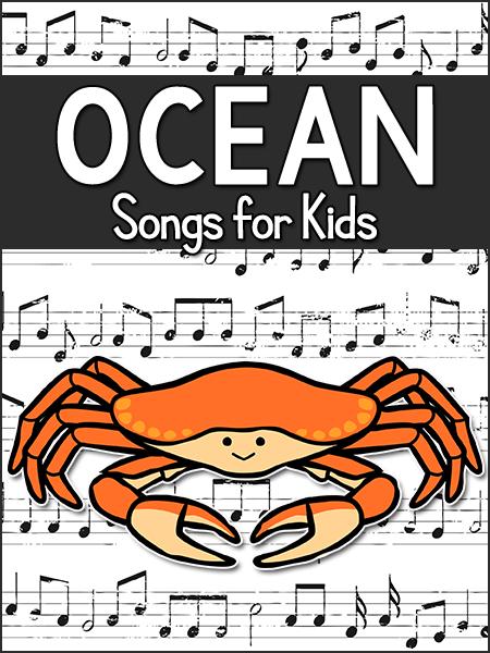 Ocean Songs for Kids in Preschool, Pre-K, Kindergarten