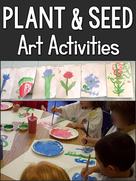 plants  u0026 seeds art activities